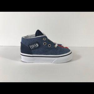 Vans Shoes - Vans Half Cab (C&L) Chambray Blue Sneakers